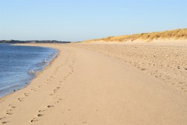 Einsamkeit am Strand