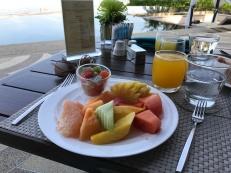 Frühstück am Meer