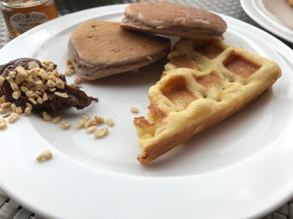 Waffeln und Pancakes