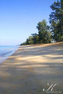 Strand Blick nach rechts