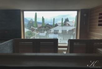 Blick Panoramasauna