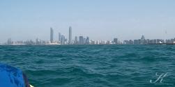 Skyline vom Speedboot