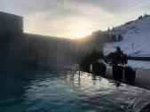 Pool Ausblick